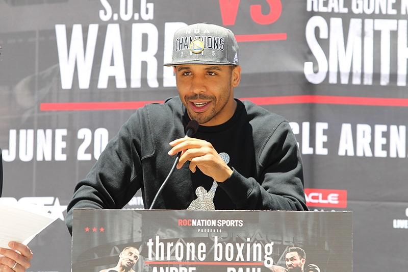 Андре Уорд - Andre Ward; фото: Tom Hogan/Hoganphotos/Roc Nation Sports